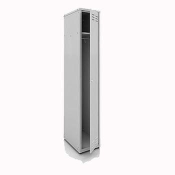 купить Металлический шкаф для одежды одинарный, 1850x380x450 мм, RAL 7035 в Кишинёве