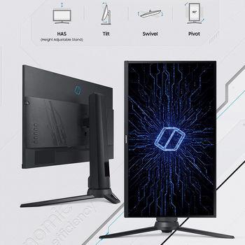 "Gaming-монитор 27"" Samsung Odyssey G3 LF27G35TFW Gaming Monitor WIDE 16:9, 1ms, 144Hz, FreeSync Premium, Pivot, Contrast 4000:1, 1920x1080 Full HD, HDMI 2.0/D-Sub"