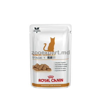 купить Royal Canin SENIOR CONSULT STAGE 1 WET 100 gr в Кишинёве