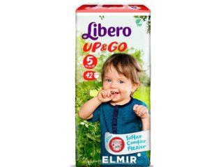 купить Libero Трусики UPGO 5, 10-14кг. 42 шт в Кишинёве