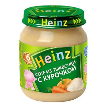 купить Heinz пюре соте из тыковки с курочкой 6+мес. 120 г в Кишинёве