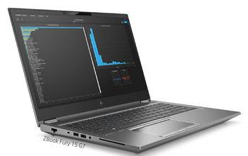 HP ZBook Fury 15 G7, Silver