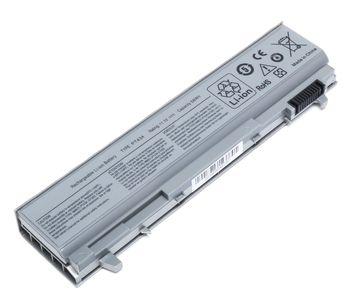 Battery Dell Latitude E6400 E6500 E6410 E6510 Precision M2400 M4400 M4500 PT434 PT435 PT436 PT437 R822G RG049 TX283 U844G W0X4F 11.1V 5200mAh Silver OEM