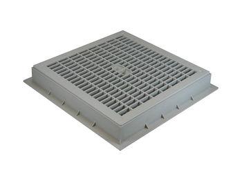 """купить П- колодец /Решетка """"TOP"""" PVC 550х550 (серая) MufleSystem в Кишинёве"""
