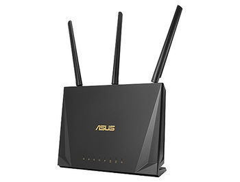 ASUS RT-AC2400, Dual-band Wireless-AC2400 Gigabit Router, 2.4GHz/5GHz for up to super-fast 2.33Gbps, External antenna x 4, WAN:1xRJ45 LAN: 4xRJ45 10/100/1000, 3G/4G, USB 3.1