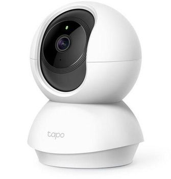 "TP-LINK Tapo C200, White, Pan/Tilt IP Camera, WiFi, Video resolution: 1080p, 114° angle lens, 1/2.9"", F/NO: 2.4; Focal Length: 4mm, 2-way audio, Privacy Mode, Motion Tracking, Night Vision, 360° Panoramic Snapshot, MicroSD up to 128GB, Andoid/iOS"