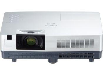 "MMProjector Canon LV-7297A + Gift Kit, 3xLCD (0.55""), 2600 Lumen (6000 hours), 2000:1, 4:3, 1024x768 (XGA,up to WUXGA / HD 1080p/i), 1.2x Zoom Lens, Ultra-quiet 29dbA, 10W Speaker, Auto Keystone Correction, LAN, HDMI, RGB in/out, RCA, S-Video, NSHA"