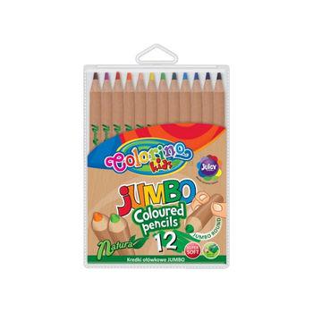 Цветные карандаши 12 шт.Jumbo Colorino