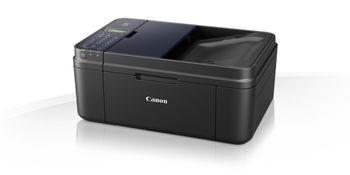 MFD Canon Pixma E484 Black, Colour Printer/Scanner/Copier/Fax/Wi-Fi, ADF(20-sheet), A4, Print 4800x1200dpi_2pl,Scan 600x1200dpi,ESAT 8.8/4.4 ipm,64-300г/м2,Cassette:100 sheets, USB 2.0, 2 x  Ink Cartridge PG-46,CL-56(Optional PG-46XL,CL-56XL)