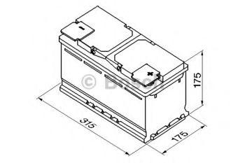 купить Аккумулятор BOSCH 12V 740AH S4 010 в Кишинёве