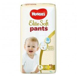 купить Трусики Huggies Elite Soft 5 (12-17 kg) 38 шт в Кишинёве