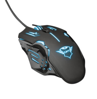 Mouse Trust GXT 108 Rava Gaming, Black