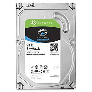 "3.5"" HDD 2.0TB  Seagate ST2000VX008  SkyHawk™ Surveillance, 5900rpm, 64MB, SATAIII"