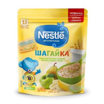 cumpără Nestle Terci Shagaica 5 cereale+ măr, banană, pară 220g în Chișinău