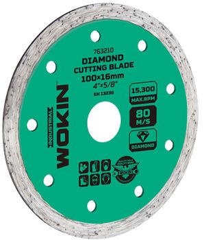 купить Диск алмазный сплошной  125*22.2MM (Prof) Wokin в Кишинёве