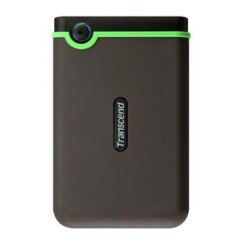 "Transcend External 500Gb 2.5"" Case ""StoreJet 25M3"" Rubber, Anti-Shock, (USB3.0)"