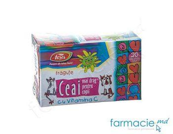 купить Ceai Fares pt copii  Fragute cu Vitamina C 1.5g N20 в Кишинёве