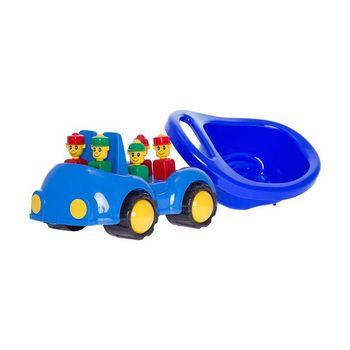 "Машинка ""Cookie"" с человечками, синий код.40431"