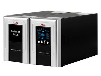 AEG Protect C.1000 BP NV - Battery Pack Extension for 1000 VA