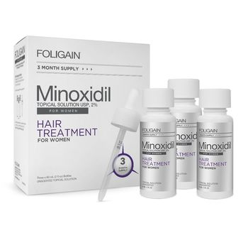 Foligain 2% Minoxidil Women Solution 3 Month Supply