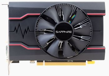 Sapphire PULSE Radeon RX 550 2GB DDR5 128Bit 1206/7000Mhz, DVI, HDMI, DisplayPort, Single fan, Lite Retail