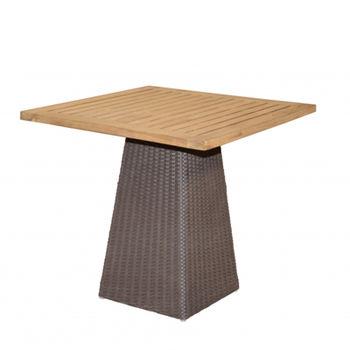 cumpără Masă din lemn 800x800x750 mm,  tic/polypeel în Chișinău