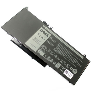 Battery Dell Latitude E5250 E5450 E5550 E5570 E5470 3160 3150 079VRK / 0HK6DV / 0R9XM9 / 0TXF9M / 0WYJC2 / 451-BBLN / 79VRK / 8V5GX / F5WW5 / G5M10 / HK60W / R9XM9 / TXF9M / VMKXM / WYJC2 7.4V 6280mAh Black Original