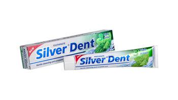 купить Паста зубная SILVER DENT Тройное действие  100 г в Кишинёве