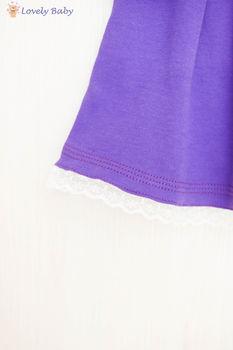 Rochie violet 62 cm