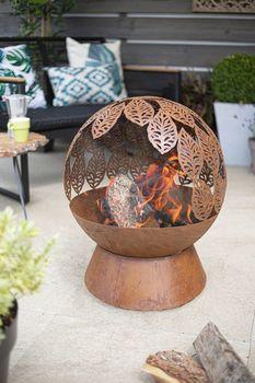Камин Leaves Fire Globe