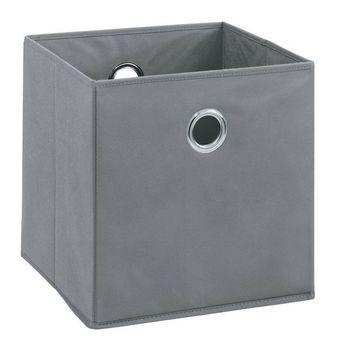 купить Бокс для хранения 320x320x320 mm, Boon серый в Кишинёве