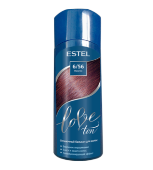 Balsam nuanțător, ESTEL Love Ton, 150 ml., 6/56 - Mahon