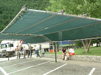 купить Сетка затеняющая 45% H2 (4m x 50m) зеленая в Кишинёве