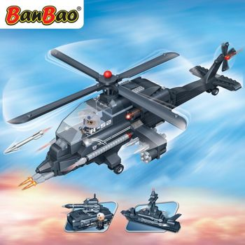 BanBao 8478  3-in-1 Helicopter  - 295 blocks
