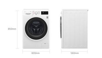 cumpără Mașină de spălat rufe LG F4J6TG0W în Chișinău
