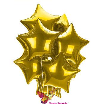 купить Облако из шаров с Логотипом ( мин.количество - 5 штук) в Кишинёве