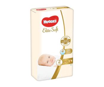 cumpără Scutece Huggies Elite Soft Jumbo 2 (4-6 kg), 50 buc. în Chișinău
