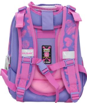 "Школьный рюкзак ""Cute Kitten"" CLASS I сиреневый"