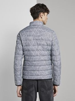 Куртка TOM TAILOR Черно-белый