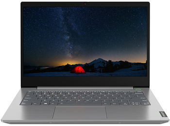 "Lenovo ThinkBook 14-IML 14.0"" FHD IPS AG 250 nits (Intel Core i3-10110U, 1x8GB Soldered DDR4-2666, 256GB SSD M.2 2280 PCIe NVMe, 11ac 2x2 + BT5.0, Intel® UHD Graphics, CR, TPM, FPR, Backlit KB, 45Wh BT, DOS, Aluminum, Mineral Grey, 1.4kg)"
