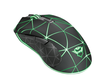 Mouse Trust GXT 133 Locx Gaming, Black