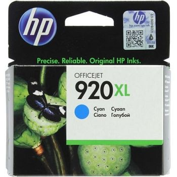 HP No.920XL OfficeJet Ink Cartridge, Cyan 700 pages for HP Officejet 6000 Printer