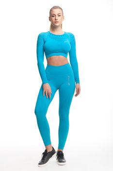 купить SEAMLESS PRO Leggings Turquoise Compression в Кишинёве