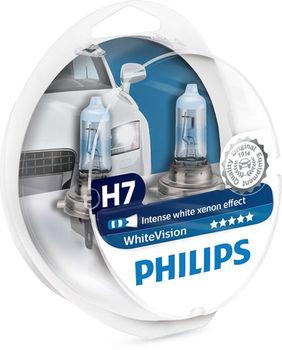 Автомобильная лампа Philips WhiteVision (12972WHVSM)