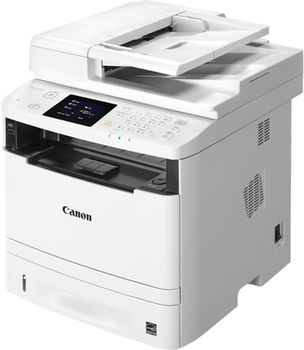 MFD Canon i-Sensys MF416DW, Mono Printer/Copier/Color Scanner/Fax,DADF(50-sheet),Duplex,Net,WiFi, A4,33ppm,1Gb,1200x1200dpi,60-163г/м2,Scan 9600x9600dpi-24 bit,250sheet tray,Colour Touch Screen,Max.50k pages per month,Cartr 719(2100pag)/719H(6400pag)
