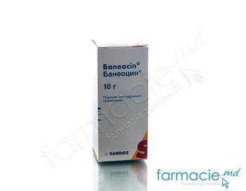 cumpără Baneocin pulb. cutan. 250 UI + 5000 UI/g 10 g N1 în Chișinău