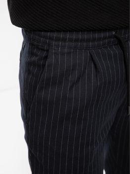 Брюки TOM TAILOR Темно синий в полоску 1018786 tom tailor
