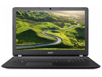 "ACER Aspire ES1-572 Midnight Black (NX.GD0EU.060) 15.6"" FullHD (Intel® Pentium® 4405U 2.10GHz (Skylake), 4Gb DDR3 RAM, 500GB HDD, Intel® HD Graphics 520, w/o DVD, CardReader, WiFi-AC/BT, 4cell, 0.3MP CrystalEye webcam, RUS, Linux, 2.4kg)"