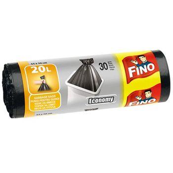 купить Fino Пакеты для мусора 20 л, 30 шт. в Кишинёве