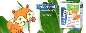 👶 💚 🌿 Salviasept Kids леденцы на палочке от кашля